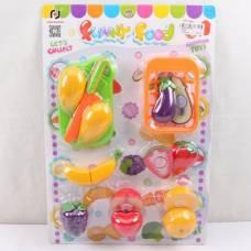 Игровой набор продуктов Funny Food - Овощи и фрукты