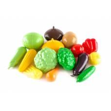 Большой набор овощей Наша игрушка