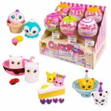 Игрушки CakePop Cuties в индивидуальной капсуле Jumbo Pop Single, 6 шт. в дисплее, 4 вида в ассортименте, цена за штуку. Отпускается только дисплеями! Basic Fun!