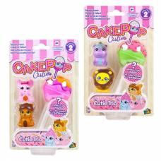 Набор игрушек Cake Pop Cuties, 2 серия, 2 вида в ассортименте, 3 штуки в наборе Basic Fun!