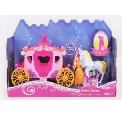 Игровой набор Fashion Carriage - Карета с лошадью Zhorya