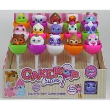 Игрушка в индивидуальной капсуле Cake Pop Cuties, 2серия, 15 шт. в дисплее, 16 видов в ассортименте, цена за штуку. Отпускается только дисплеями! Basic Fun!