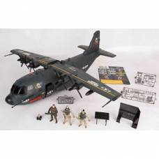 Игровой набор Soldier Force - Военно-транспортный самолет (свет, звук) Chap Mei