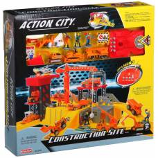 Игровой набор Action City - Стройплощадка (свет, звук) Realtoy
