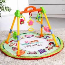 Игровой развивающий центр «Зоо», с ковриком, музыкальный Sima-Land