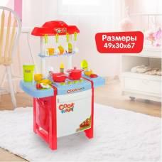 Игровой модуль кухня «Весёлые поварята», 27 предметов, льётся вода из крана Sima-Land