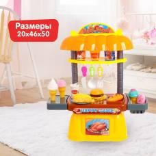 Игровой модуль кухня «Фастфуд», 32 предмета Sima-Land