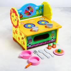 Игровой набор «Кухня-Львёнок» 27×21×7 см Sima-Land