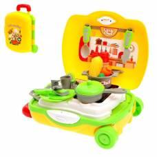 Игровой набор «Овощная кухня» в чемодане, 22 предмета Sima-Land