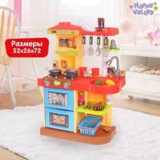 Игровой модуль кухня «Маленький шеф-повар», световые и звуковые эффекты Happy Valley