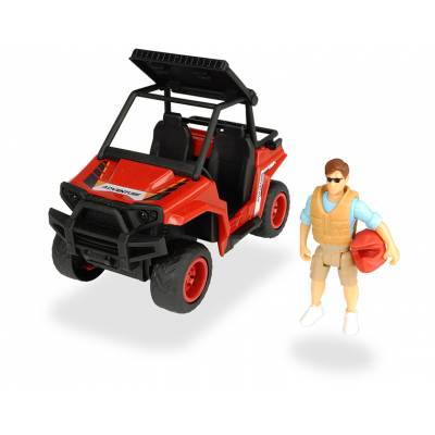 Квадроцикл паркового рейнджера PlayLife с фигуркой и аксессуарами Dickie