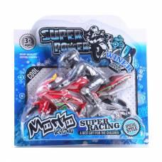 Игрушечный мотоцикл Super Power, с гонщиком