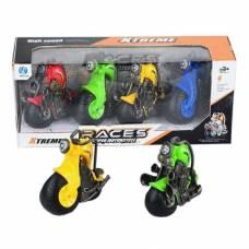 Набор из 4 инерционных мотоциклов Races Shantou