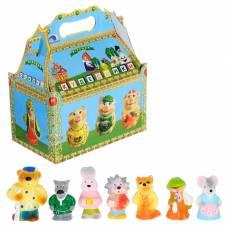 Набор резиновых игрушек «Теремок» ЗАО ПКФ