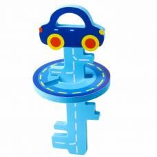 Головоломка для игры в ванне «Ключик и машинка» , цвет синий Крошка Я