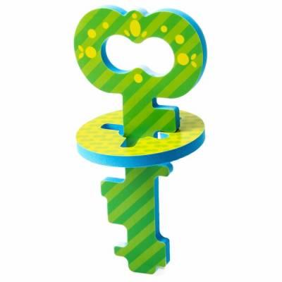 Головоломка для игры в ванне «Ключик» , цвет зелёный Крошка Я