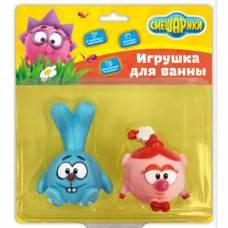 Набор из 2-х игрушек для купания «Крош и Нюша», 8,5 см, 6 см, в блистере Тошка