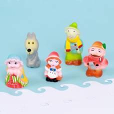 Набор резиновых игрушек «Красная шапочка» ЗАО ПКФ