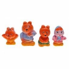 Набор резиновых игрушек «Три медведя» ЗАО ПКФ