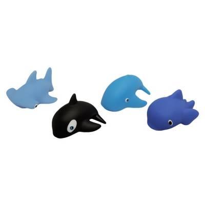 Набор игрушек для купания «Морской мир», 4 шт. Lubby