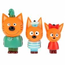 Набор из 3-х игрушек для купания «Компот, Коржик, Карамелька», в коробке Тошка