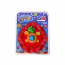 Игрушки для купания «Черепашка», с крутящимся шариком, массажёром для дёсен Забавное купание