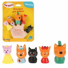Набор для купания «Три Кота: Пальчиковый театр», 5 фигурок Тошка