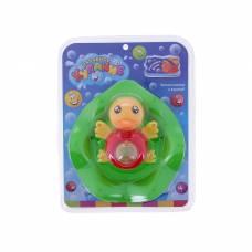 Игрушки для купания «Уточка», с крутящимся шариком, массажёром для дёсен Забавное купание