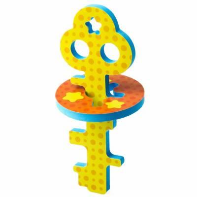 Головоломка для игры в ванне «Ключик и звёздочки» , цвет жёлтый Крошка Я