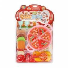 Набор продуктов для резки с посудой, 15 предметов Наша игрушка