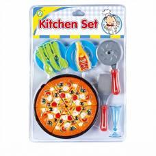 Игровой набор посуды Kitchen - Пицца  Zhorya