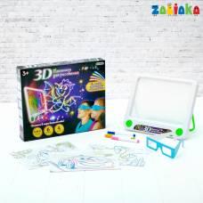 3D-планшет для рисования «Магические рисунки», световые эффекты Забияка