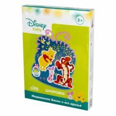 Шнуровка Disney Baby - Медвежонок Винни и его друзья Десятое Королевство