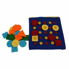 Дидактическая игра из ткани