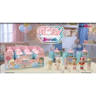 Baby Secrets Bottle Surprise, коллекционная куколка в бутылочке, 6 шт. в ассортименте Junfa Toys