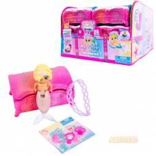 Baby Secrets Merbabes, коллекционная куколка в сундучке с сокровищами, серии Treasure Junfa Toys