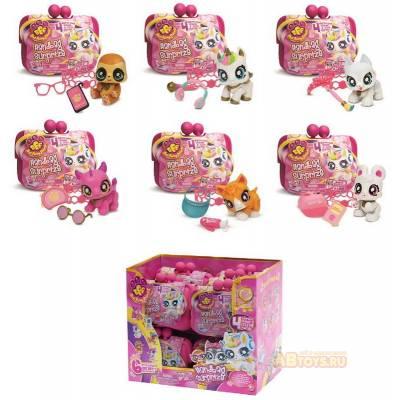 Best Furry Friends игрушка-сюрприз в кошельке Hand Bag Surprise Junfa Toys