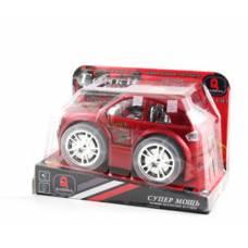 Игрушечная машинка Супер Мощь - Гонки (свет, звук), красная