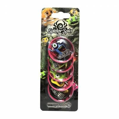 Дополнительные жетоны Spider Spin - Collective Tokens, розовые CATCHUP TOYS