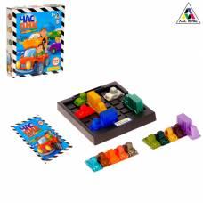 Настольная игра-головоломка на логику «Час пик», 16 машин, 152 задания ЛАС ИГРАС