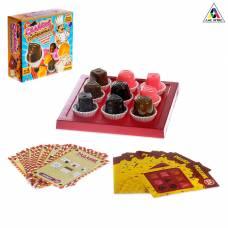 Настольная игра-головоломка «Сладкая головоломка», 40 карточек с заданиями ЛАС ИГРАС