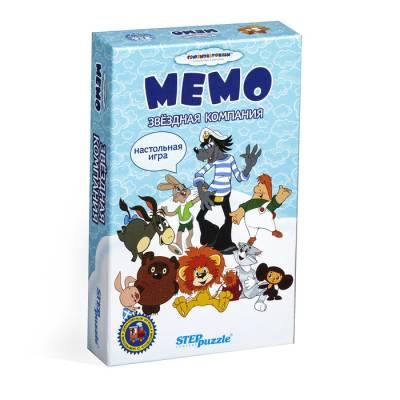 Настольная игра «Мемори. Звёздная компания» Step Puzzle