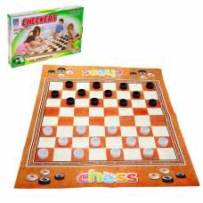 Игра напольная «Шашки», размер игрового поля 80 х 65 Sima-Land