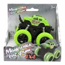 Инерционная машинка 4х4, зеленая Funky Toys