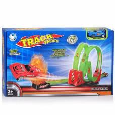 Автотрек Track Racing с машинкой, 18 деталей Global Toys