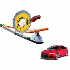 Набор для трюков Force Jump с машинкой Mitsubishi Lancer Evolution X Happy Well