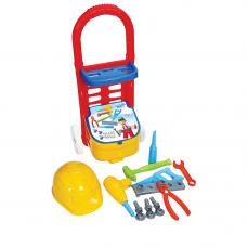 Набор инструментов 14 предметов в тележке Terides
