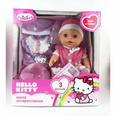 Интерактивная кукла Hello Kitty - Пупс (пьет, писает), 30 см Карапуз