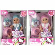 Интерактивная кукла-пупс Hello Kitty с аксессуарами (пьет, писает)  Карапуз