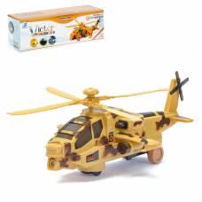 Вертолёт «Кобра», работает от батареек, цвета МИКС Sima-Land
